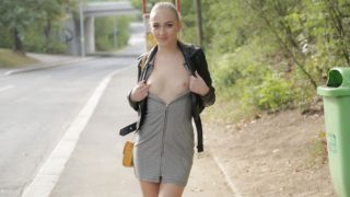 PublicAgent – Smooth bald pussy is fucked hard