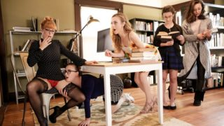GirlsWay – The Library Is Now Closed
