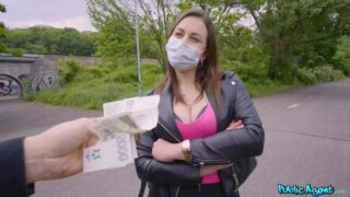 PublicAgent – Face Mask Fucking with Big Boobs