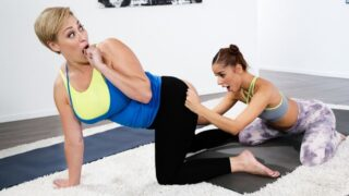 GirlsWay – Making Mom Sweat